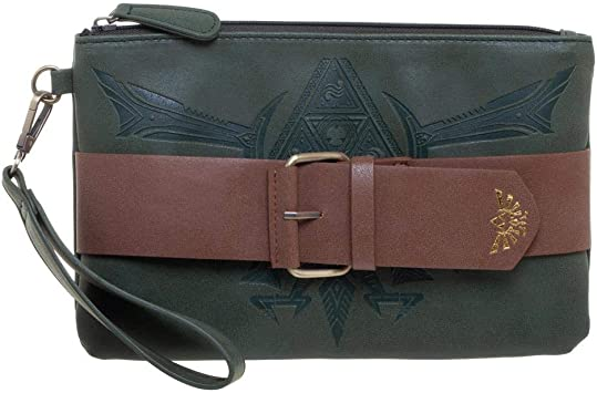 Bioworld - Nintendo - Legend of Zelda - Zelda Inspired Clutch Purse: Amazon.es: Juguetes y juegos