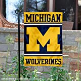College Flags and Banners Co. Michigan Wolverines Garden Flag