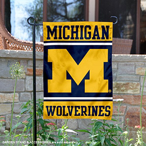 College Flags and Banners Co. Michigan Wolverines Garden Fla