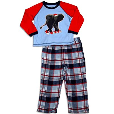 Little Me - Baby Boys Long Sleeve Pajamas