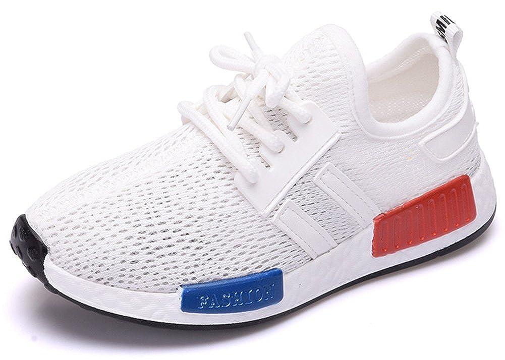 SFNLD InStar Kids Breathable Hook and Loop Strap Antiskid Sports Sneakers Shoes