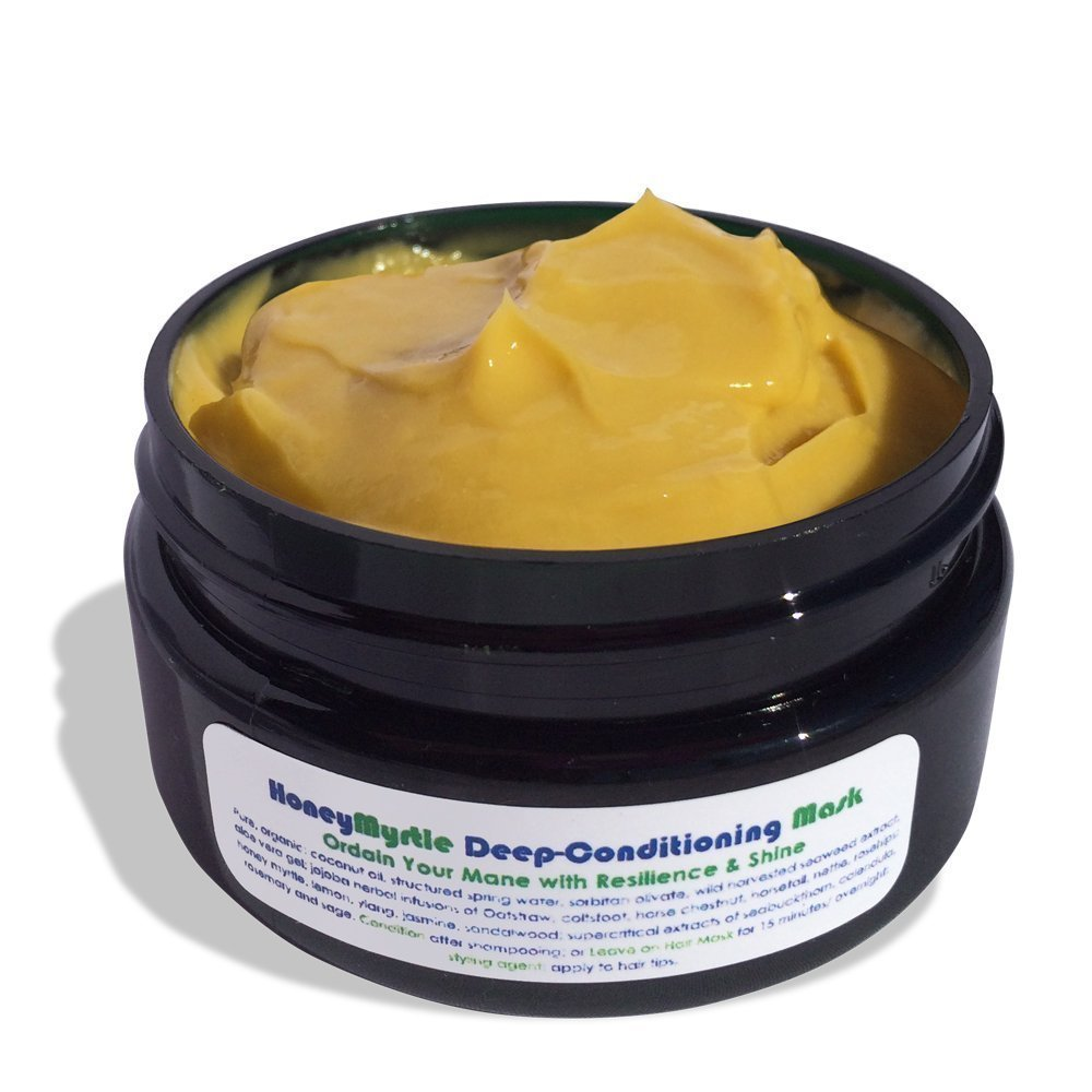 Living Libations - Organic/Wildcrafted Honey Myrtle Deep Conditioning Hair Mask (2.02 oz/60 ml)