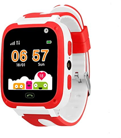Amazon.com: Kids Smartwatch with Games LBS Waterproof SOS ...