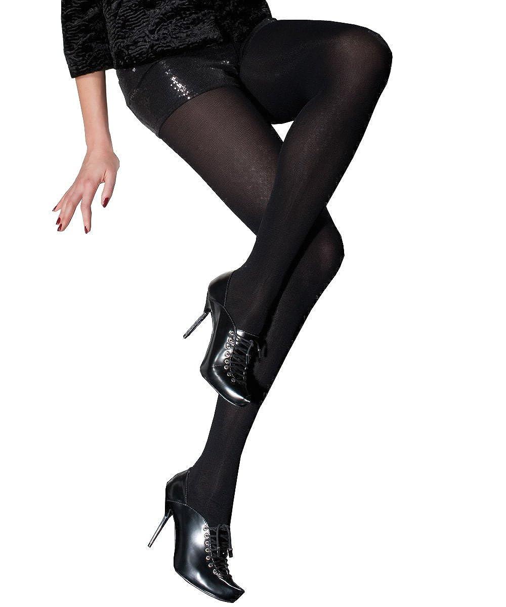 2d796f7d1bdb2 Amazon.com: Raisa 120 Denier 3D Super Elastic Tights Color: Graphite Size:  3 (Medium): Clothing