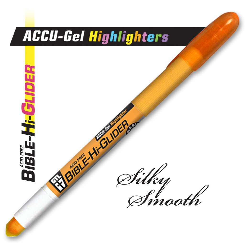 Accu-Gel Bible Highlighter Study Kit (Set of 6) - 4 Sets by G.T. Luscombe Company, Inc. (Image #5)