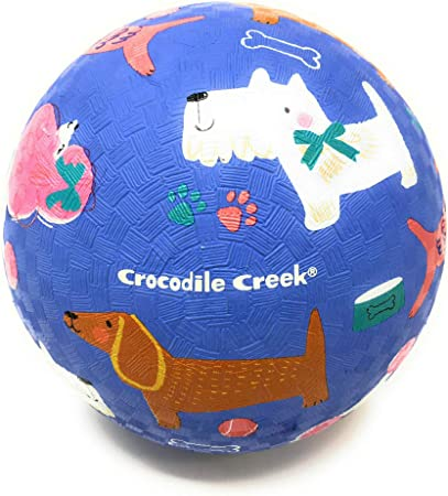Unicorns for Kids Ages 3 /& Up Crocodile Creek Rubber Playground Ball 7