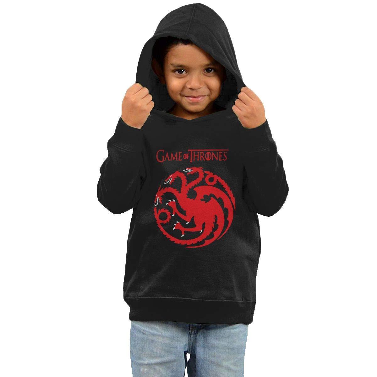 Stacy J. Payne Toddler Game Targaryen Casual Style Fleece40 Black