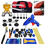 AUTOPDR 40pcs DIY Paintless Dent Removal Tool Kit for Automobile Body Motorcycle Refrigerator...
