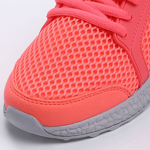 Pink Breathable Mesh Casual Mxson Sneakers Ultra Womens Lightweight Running Sport Walking Shoes q7xXP
