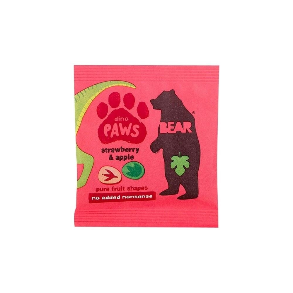 Bear Dino Paws Strawberry & Apple (20g) Grocery
