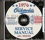 1976 Oldsmobile CD-ROM Repair Shop Manual