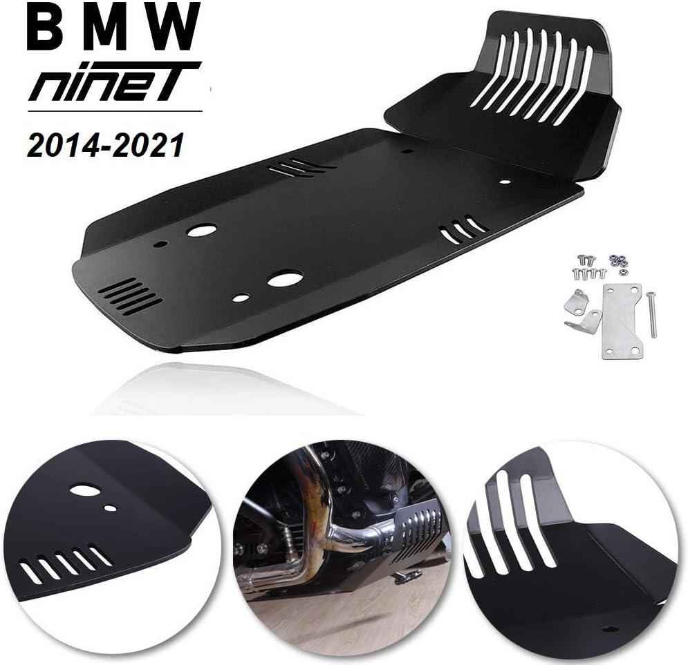 R 1200 R BJ 2006-14 Motorschutz Unterfahrschutz silber BMW R nine T BJ 2013-19