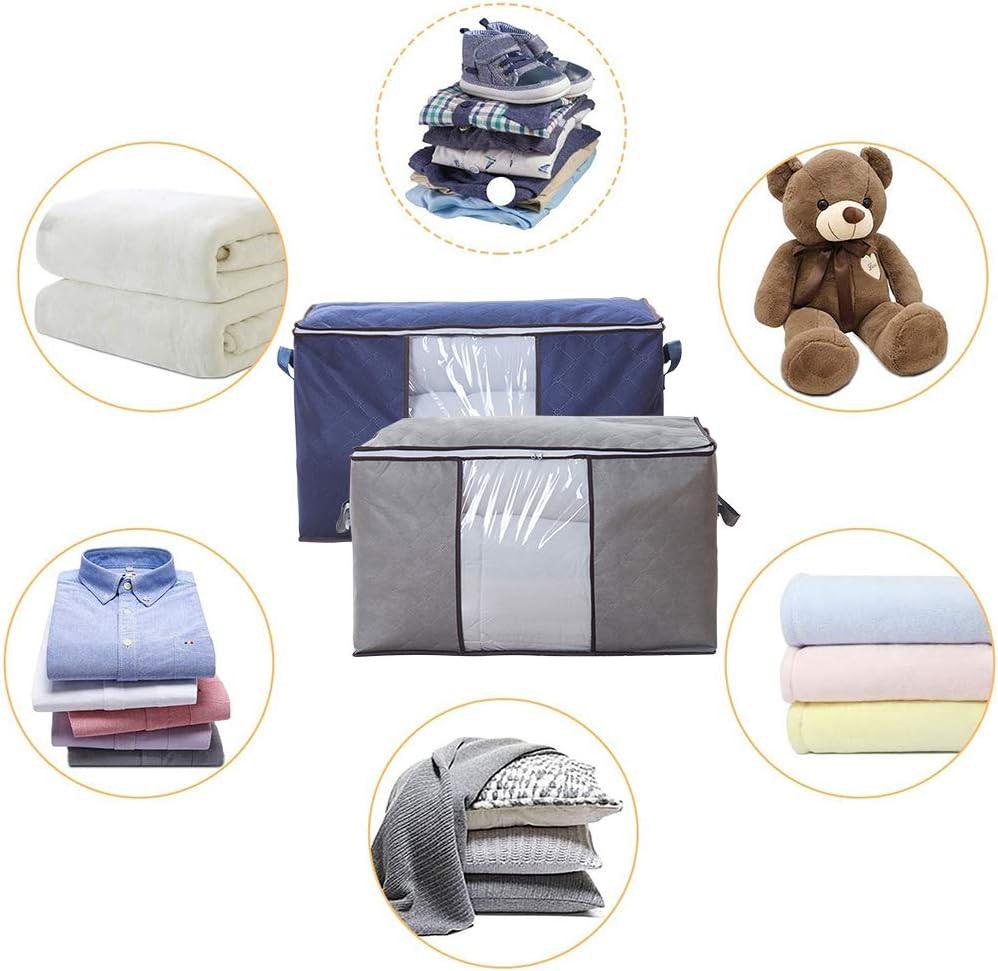 KongEU 6 Bolsas de Almacenamiento al vac/ío para Colgar sin Fugas Gran Espacio Lateral para Trajes Vestidos o Chaquetas