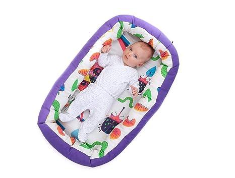 Nido para bebes nest reductor protector cuna para cama desenfundable Edad 0 a 6 meses Cuna viaje portátil Fabricado en España Varios Modelos Tamaño ...
