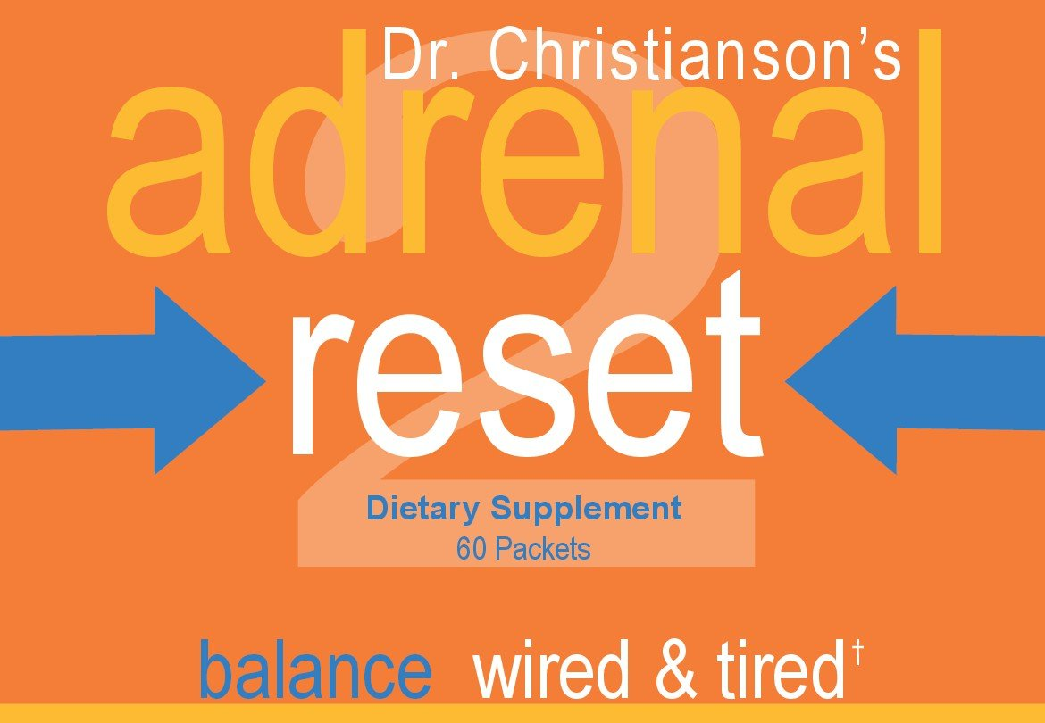Adrenal Health Pack - Correct Wired & Tired for Weight Loss on The Adrenal Reset Diet - 60 count