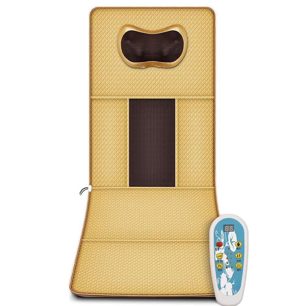 頚部マッサージャー、多機能ボディバックバイブレーション電気マッサージマット、混練家庭用マットレス/クッション B07RXWS896