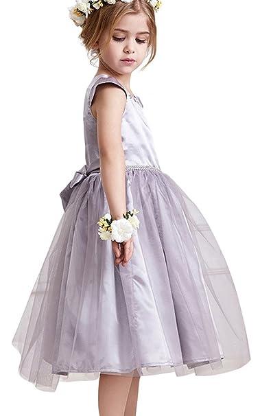 885576b104b3 Amazon.com  JoyVany Summer Flower Girls Princess Tutu Dresses Kids ...