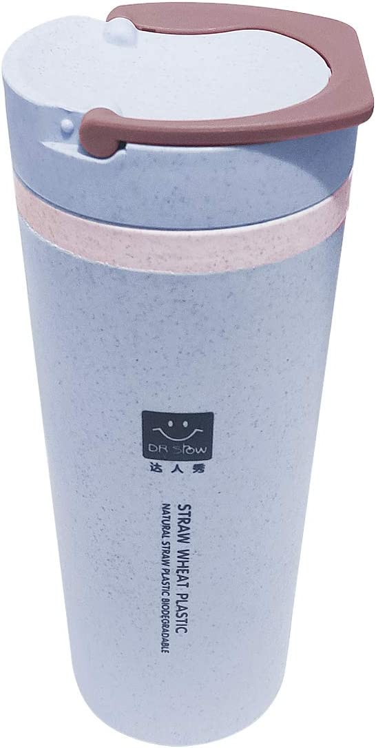 Tumbler 15 OZ Double Wall Insulated Travel Mug with Lid,BPA Free Coffee Cups for Home, Office, School, Sport, Ice Drink, Hot Beverage