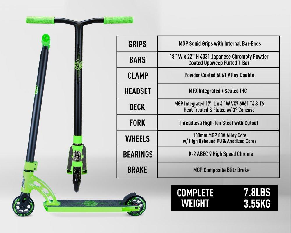 Madd Gear VX7 Mini Pro - Patinete, 205-676, Negro: Amazon.es: Deportes y aire libre