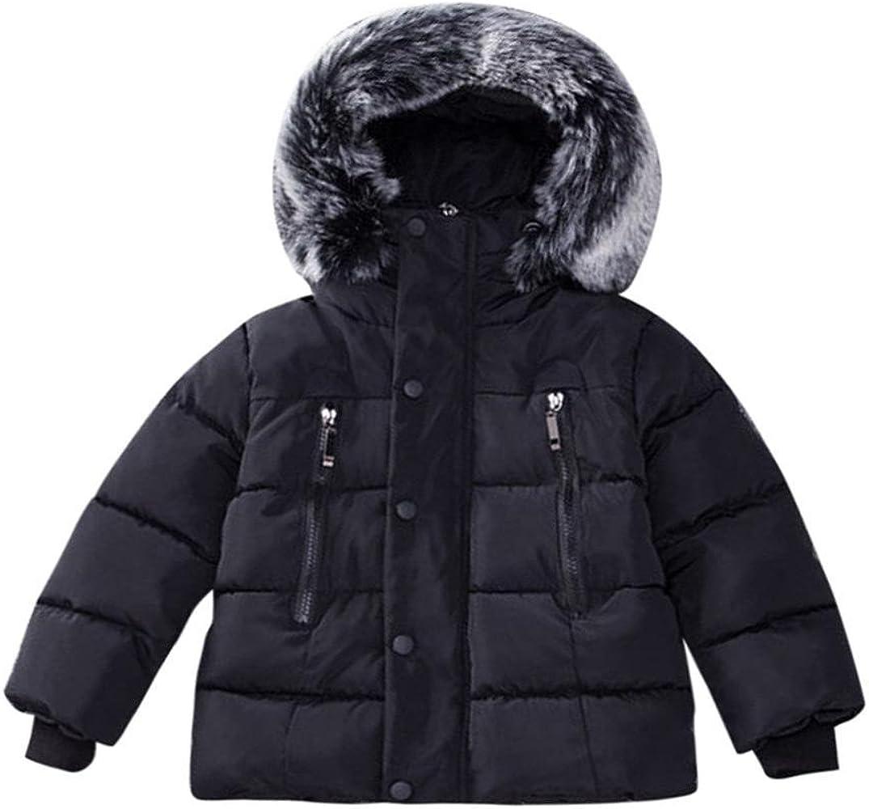 Bebés niños niñas Invierno Abrigo, algodón Chaqueta con Capucha ...