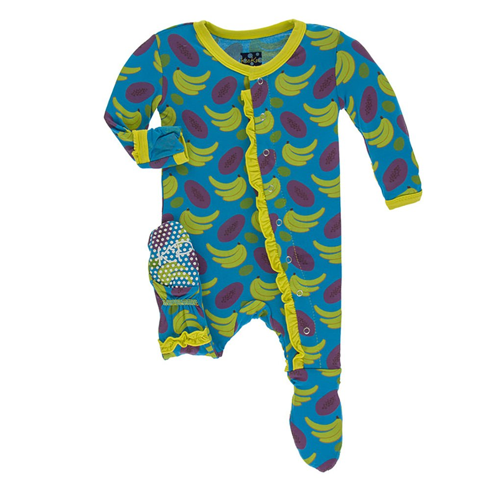高質 Kickee Pants SLEEPWEAR カラー: ベビーガールズ B07D5M7DD8 US Fruit サイズ: Newborn カラー: ブルー B07D5M7DD8 Tropical Fruit Newborn Newborn|Tropical Fruit, カリス成城@ここちeくらしShop:2c134c15 --- mail.mrplusfm.net