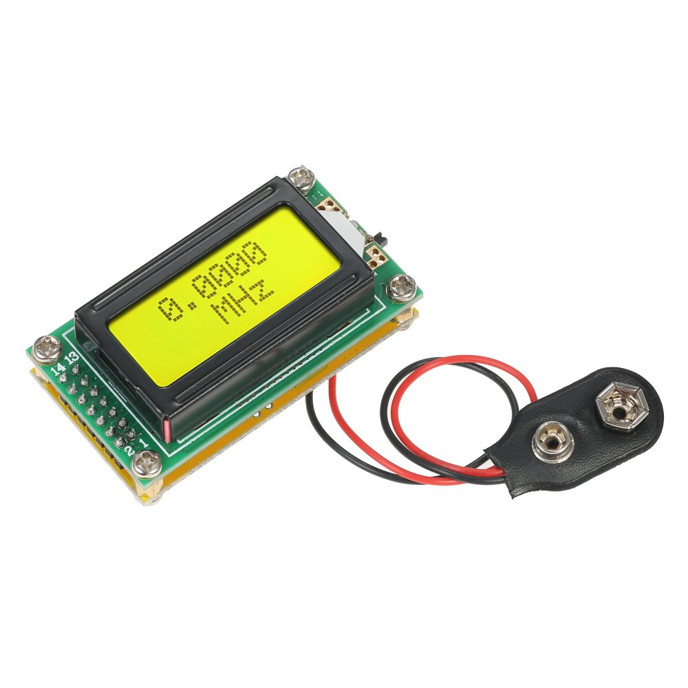 Wunes - 感度1-500 MHzの周波数カウンタLCD周波数メーターモジュールヘルツテスター測定モジュールcymometer DIY高精度