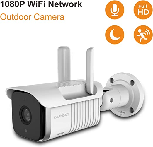 Amazon.com: KAANSKY S6 Cámara IP HD1080P Impermeable IP66 ...