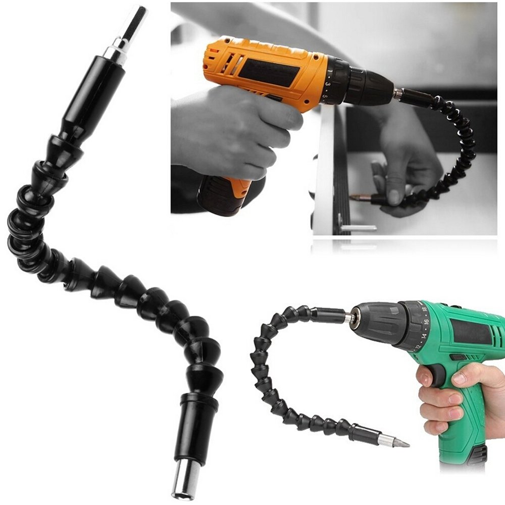 bodhi2000 Flexibler Schaft Bohrer Verlä ngerung, 1/10,2 cm Hex Drive, Power Tools Schraubendreher-Set Extender TRTAZ11A