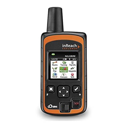 DeLorme inReach Explorer Satellite Tracker – Satellite Phones for ...