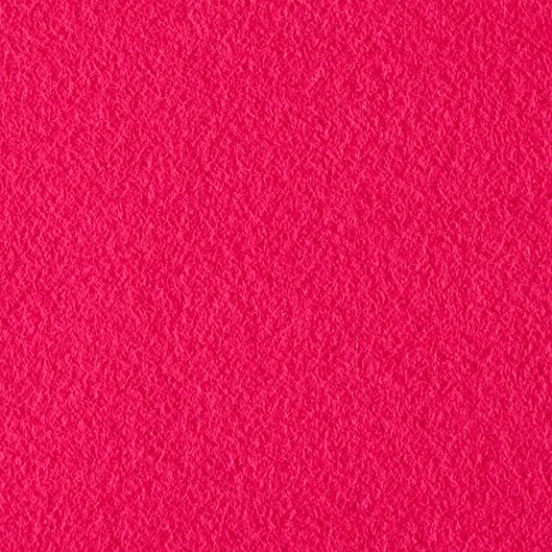 Polar Fleece Solid Fuchsia Fabric