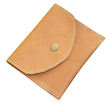 Style98 Leather Pocket Wallet,Card Holders for Women -Tan - Small