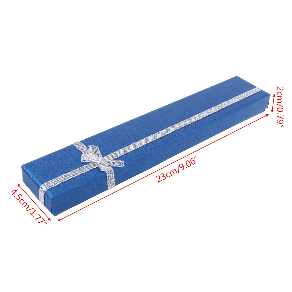 Forgun Hand Fan Packing Box for Anniversary Birthday High End Colorful Gift Packing Box (Deep Blue) by Forgun (Image #2)