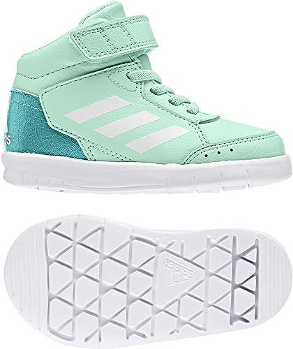 | adidas Infant Kids Girls Shoes AltaSport Mid