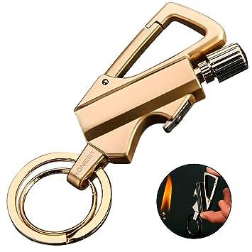 Amazon.com: BOLLAER - Llavero de metal para regalo, al aire ...