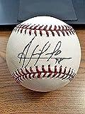 Ariel Prieto Autographed Baseball - OML ! & Devil Rays! - Autographed Baseballs