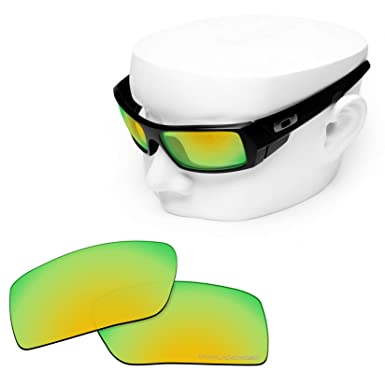 9b83dba662 OOWLIT Replacement Lenses Compatible with Oakley Gascan Sunglass 24K  Combine8 Polarized