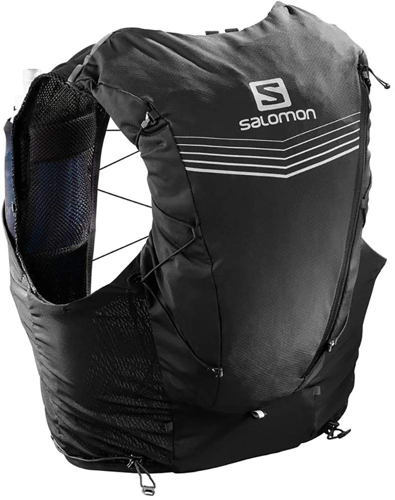 Salomon Adv Skin 12 Set Hydration Stretch Pack, Black, X-Large