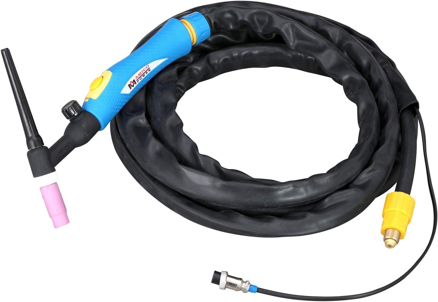 Amico TIG-180DC 180 Amp TIG Torch//Arc//Stick DC Inverter Welder Dual Voltage IGBT Welding
