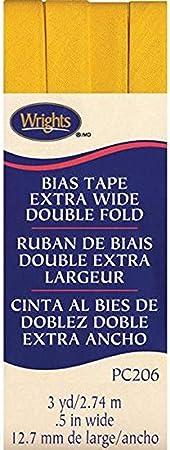 "Double Fold Bias Tape 1//2/""X3yd Spice 070659553776"