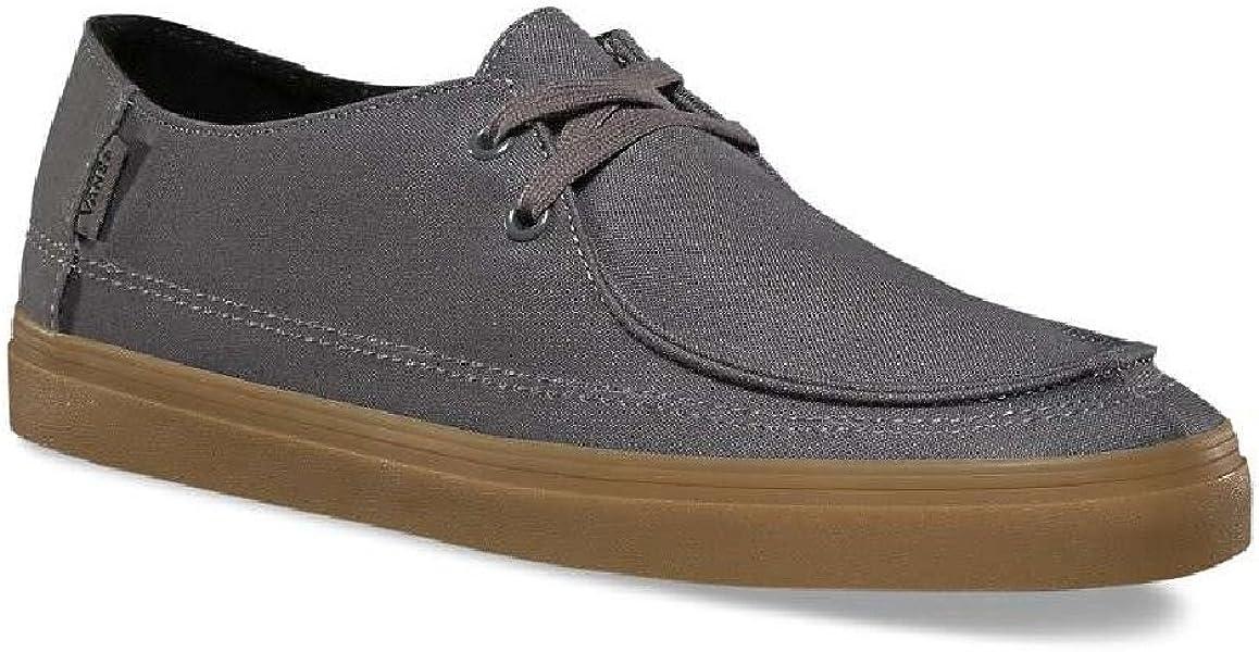 e8e9d9a8ba1d Vans Men s Rata Vulc SF Pewter Light Gum Skateboarding Shoes VN0A32SDKT9 ...