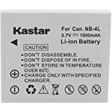 Kastar Replacement Battery NB-4L for Canon PowerShot SD960 IS Digital Camera and More