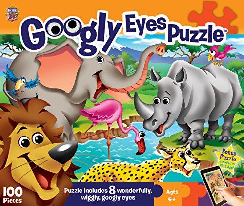 MasterPieces Googly Eyes Safari Puzzle (100 Piece)