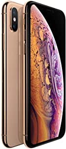 Apple iPhone Xs Gold 256GB SIM-Free Smartphone (Renewed)