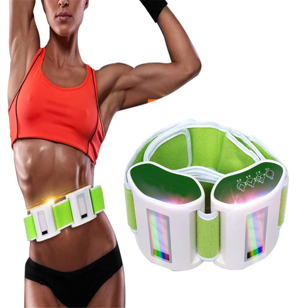 電動振動痩身ベルト、振動マッサージャーベルト振動ウエスト腹部脚脂肪燃焼減量ボディスカルプティング(有料モデル) B07SPYR21T