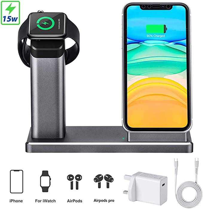Wireless Qi Charger Charging Station