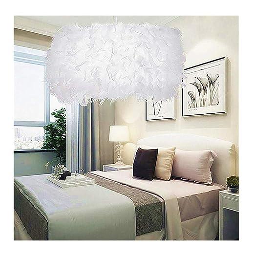 Meerveil 1 STÜCK Romantische Traumhafte Feder Droplight Zimmer Lampe ...