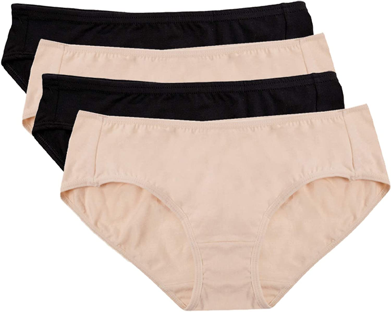 Hesta algodón orgánico de la Mujer Basic Bragas Ropa Interior 4 ...