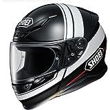 ショウエイ(SHOEI) バイクヘルメット フルフェイス Z-7 PHILOSOPHER (フィロソファー)TC-5 (BLACK/WHITE) M (頭囲 57~58cm) -