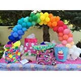 Beaumode 5 Inches Tiny Balloons Assorted Latex Balloons 200pcs for DIY Balloon Garland Balloon Game Bridal Shower Bachelorette Birthday Party Centerpiece Decor