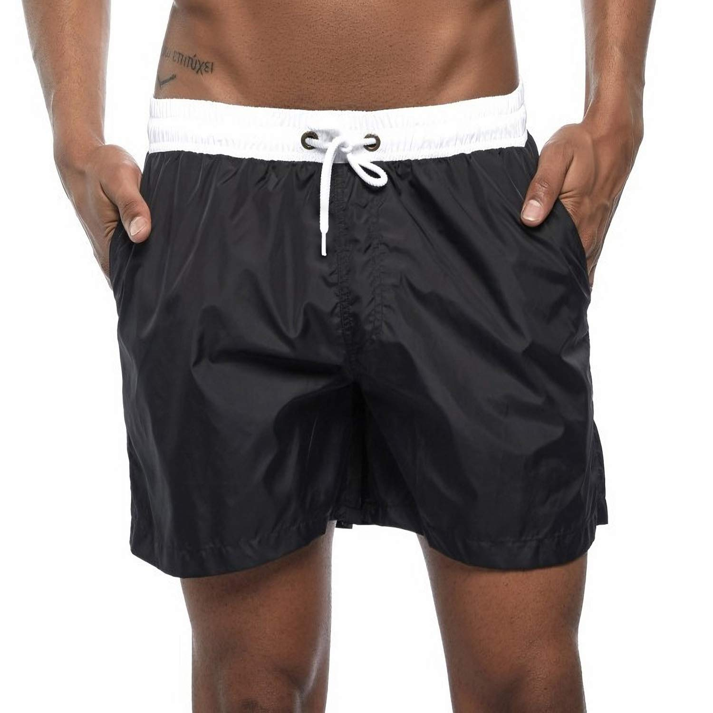 Earcase Men's Swim Trucks Beach Shorts Sportwear 3D Print Quick Dry Board Shorts